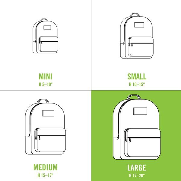 alternate view Vans x FLOUR SHOP Patch Mini Backpack - Black / WhiteALT1C