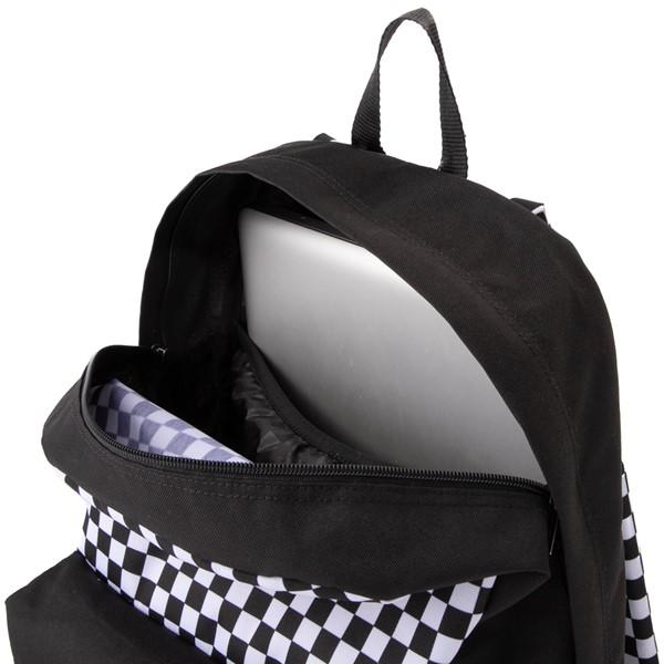 alternate view Vans x FLOUR SHOP Patch Mini Backpack - Black / WhiteALT3