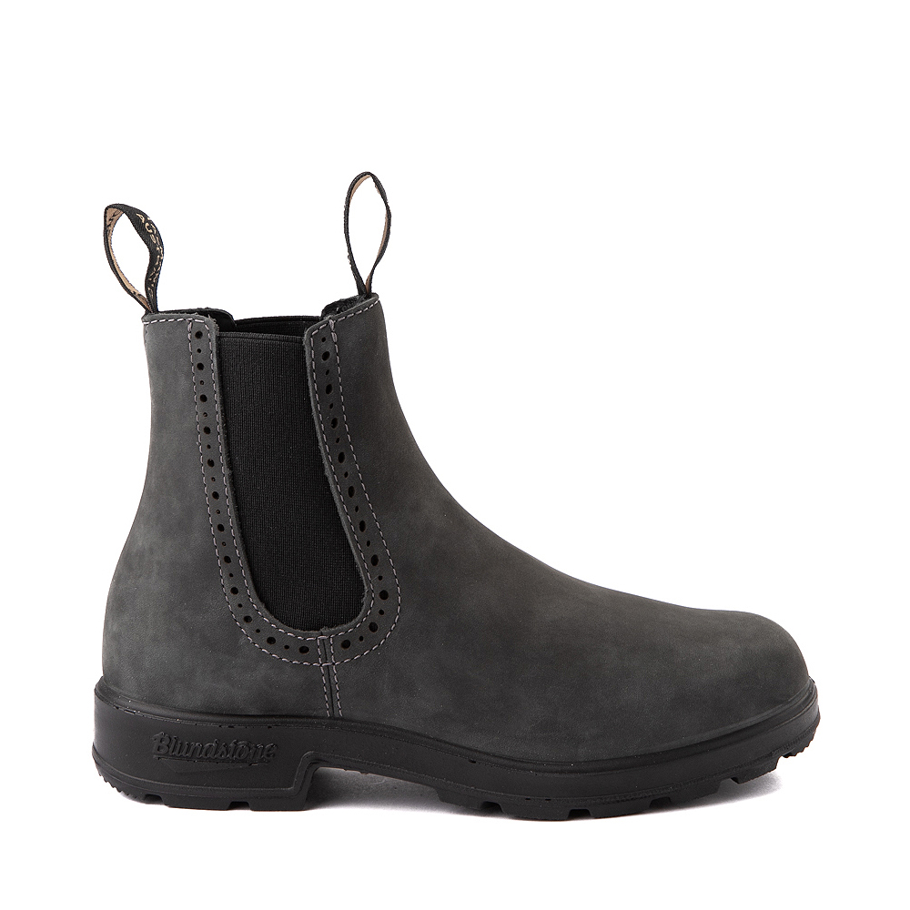 Womens Blundstone High Top Chelsea Boot - Rustic Black