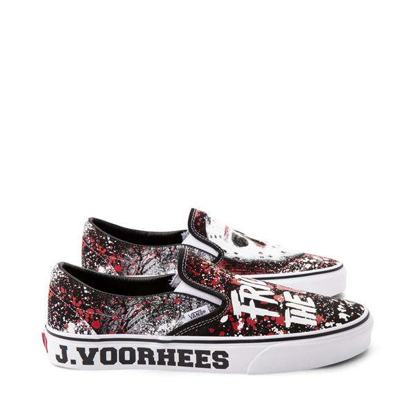 alternate view Vans x Horror Slip On Friday The 13th Skate Shoe - BlackALT1B