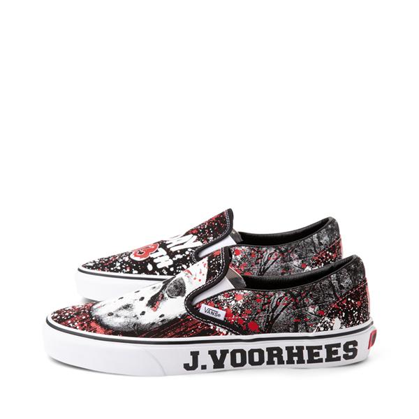 alternate view Vans x Horror Slip On Friday The 13th Skate Shoe - BlackALT1C