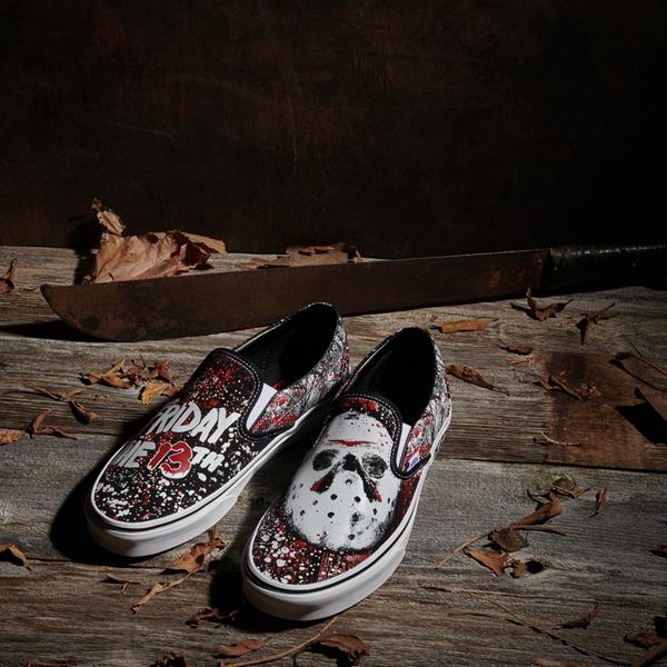 alternate view Vans x Horror Slip On Friday The 13th Skate Shoe - BlackALT1D