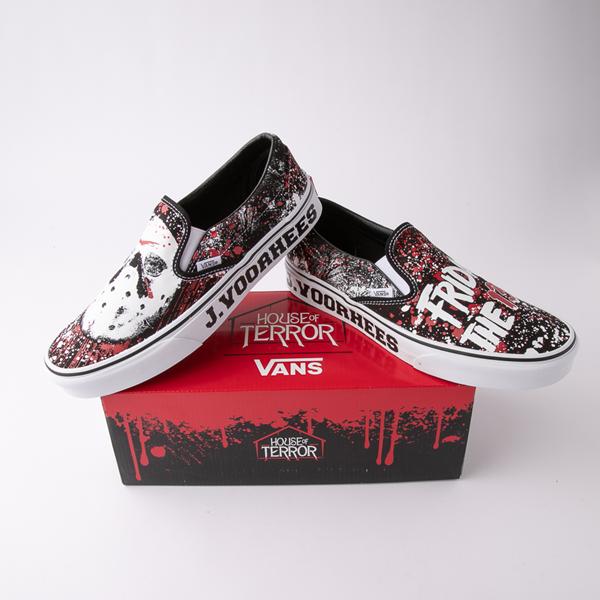 alternate view Vans x Horror Slip On Friday The 13th Skate Shoe - BlackALT1E