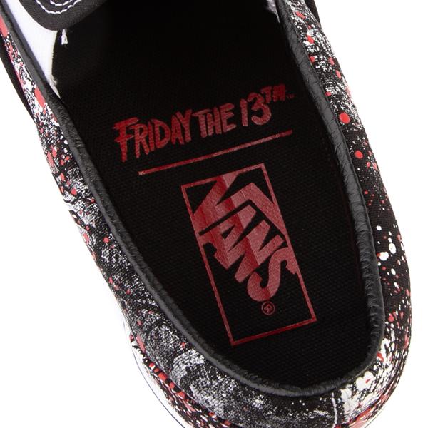 alternate view Vans x Horror Slip On Friday The 13th Skate Shoe - BlackALT2C