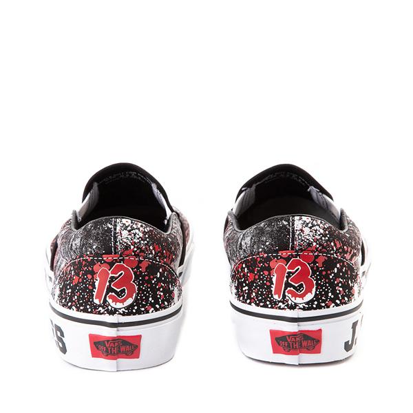 alternate view Vans x Horror Slip On Friday The 13th Skate Shoe - BlackALT4