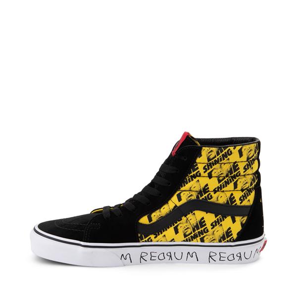alternate view Vans x Horror Sk8 Hi The Shining Skate Shoe - BlackALT1