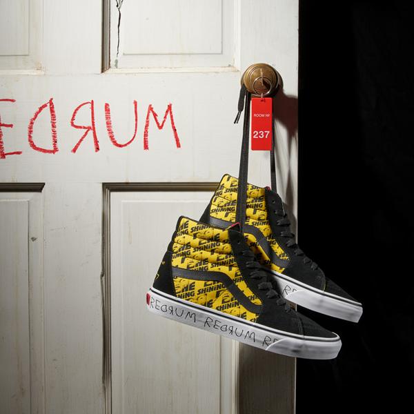 alternate view Vans x Horror Sk8 Hi The Shining Skate Shoe - BlackALT1B