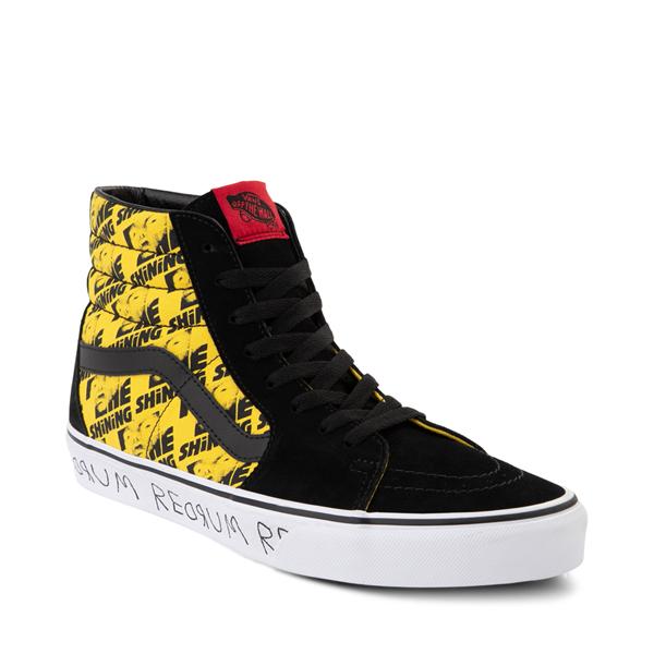 alternate view Vans x Horror Sk8 Hi The Shining Skate Shoe - BlackALT5