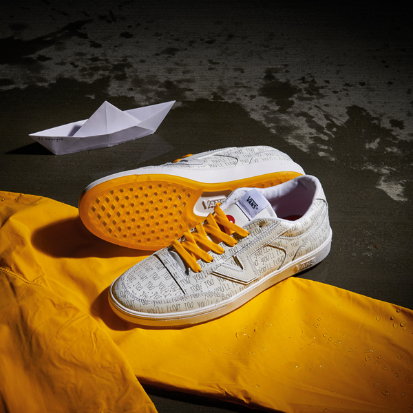 alternate view Vans x Horror Lowland ComfyCush® It Skate Shoe - WhiteALT1B