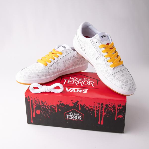 alternate view Vans x Horror Lowland ComfyCush® It Skate Shoe - WhiteALT1C