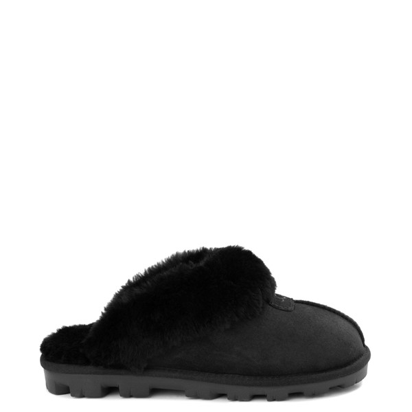 Main view of Womens UGG® Coquette Slipper - Black