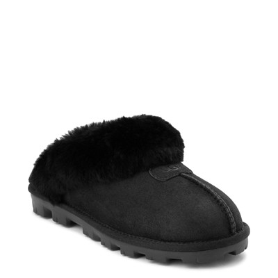 Alternate view of Womens UGG® Coquette Slipper - Black