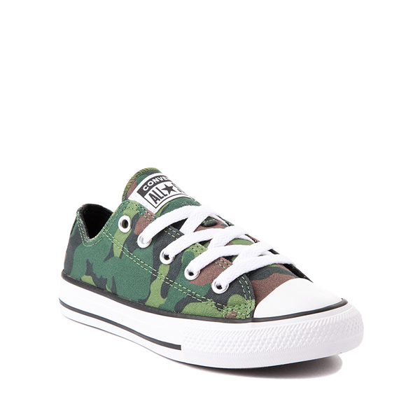 alternate view Converse Chuck Taylor All Star Lo Sneaker - Little Kid / Big Kid - CamoALT5