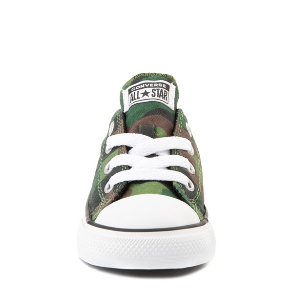 alternate view Converse Chuck Taylor All Star Lo Sneaker - Baby / Toddler - CamoALT4