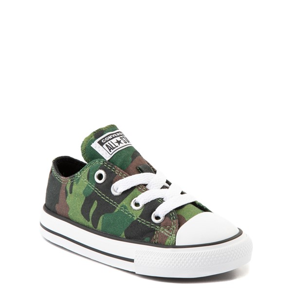 alternate view Converse Chuck Taylor All Star Lo Sneaker - Baby / Toddler - CamoALT5