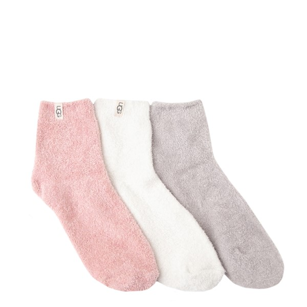 Womens UGG® Keri Quarter Socks 3 Pack - Multicolor