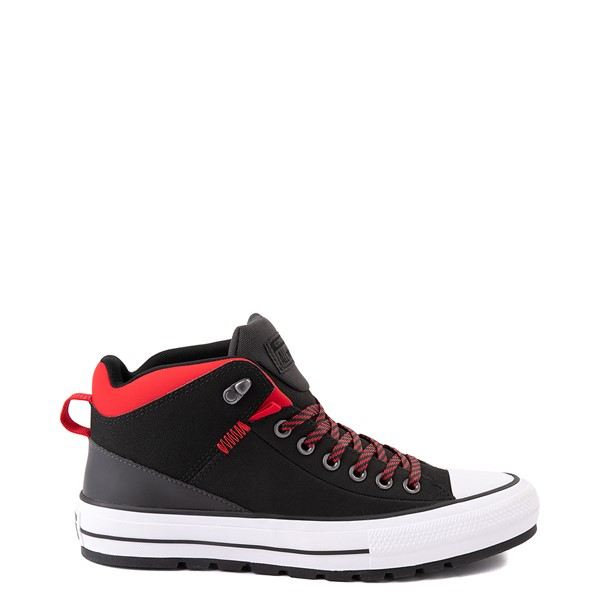 Main view of Converse Chuck Taylor All Star High Street Boot - Black / Red