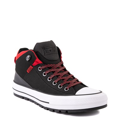 Alternate view of Converse Chuck Taylor All Star High Street Boot - Black / Red