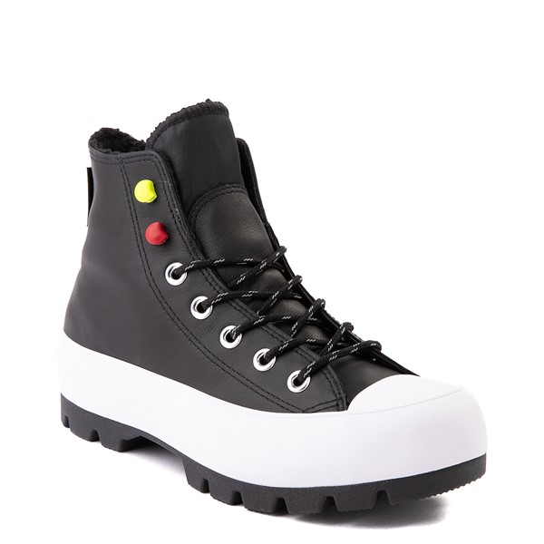 alternate view Womens Converse Chuck Taylor All Star Hi MC Lugged Sneaker - BlackALT5
