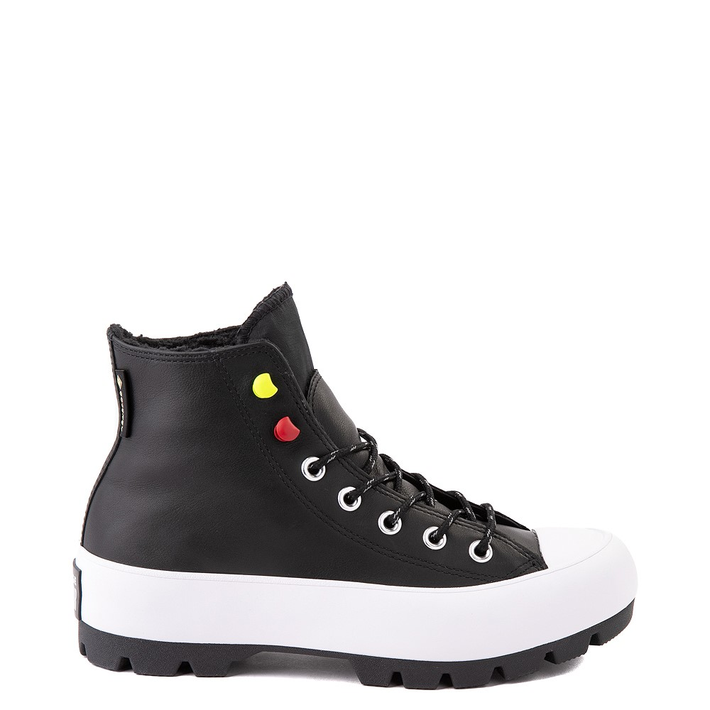 Womens Converse Chuck Taylor All Star Hi MC Lugged Sneaker - Black