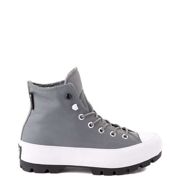 Main view of Womens Converse Chuck Taylor All Star Hi MC Lugged Sneaker - Limestone Gray