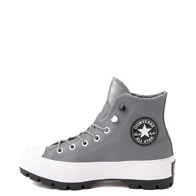 Alternate view of Womens Converse Chuck Taylor All Star Hi MC Lugged Sneaker - Limestone Gray