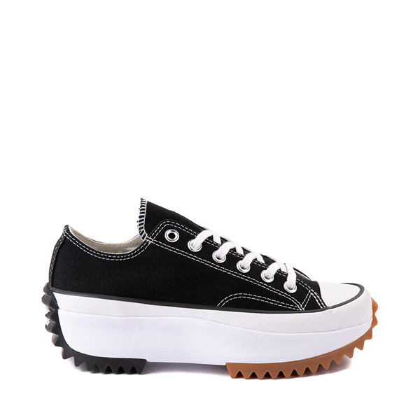 Main view of Converse Run Star Hike Lo Platform Sneaker - Black / White / Gum