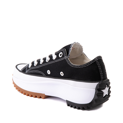 Alternate view of Converse Run Star Hike Lo Platform Sneaker - Black / White / Gum