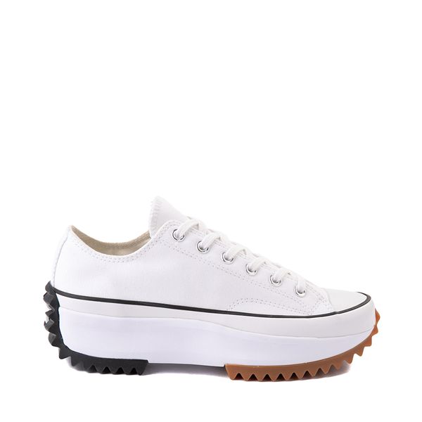 Main view of Converse Run Star Hike Lo Platform Sneaker - White / Black / Gum
