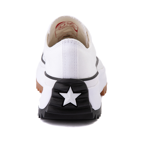 alternate view Converse Run Star Hike Lo Platform Sneaker - White / Black / GumALT4