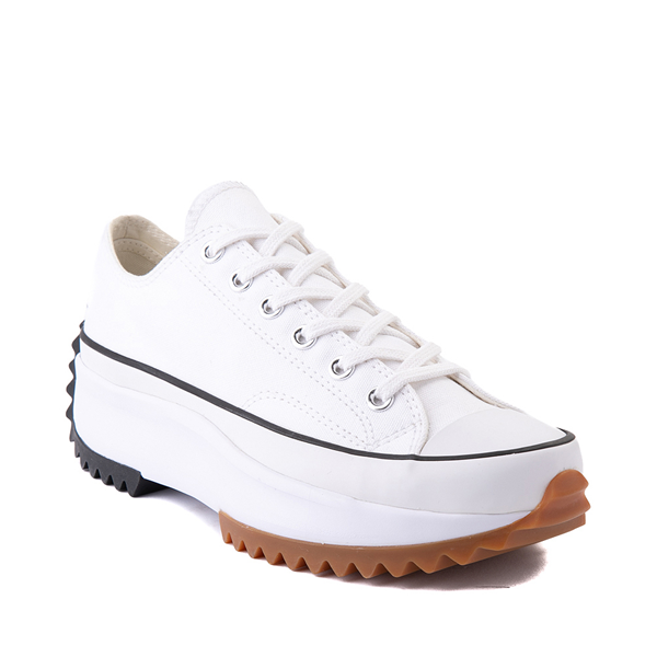 alternate view Converse Run Star Hike Lo Platform Sneaker - White / Black / GumALT5
