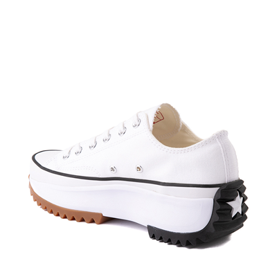 Alternate view of Converse Run Star Hike Lo Platform Sneaker - White / Black / Gum