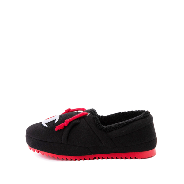 alternate view Champion University Slipper - Big Kid - Black / RedALT1