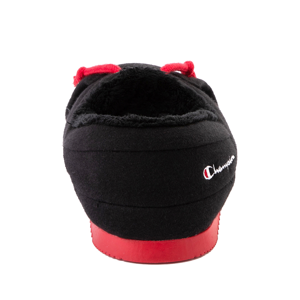 alternate view Champion University Slipper - Big Kid - Black / RedALT4
