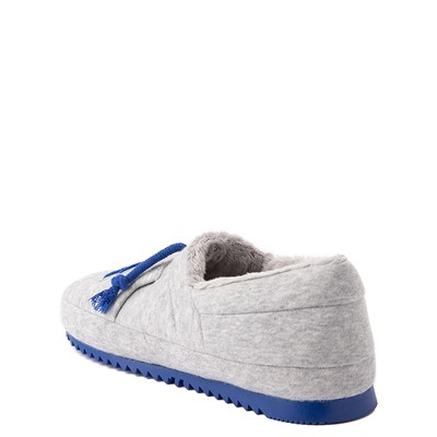 Alternate view of Champion University Slipper - Big Kid - Gray / Royal Blue