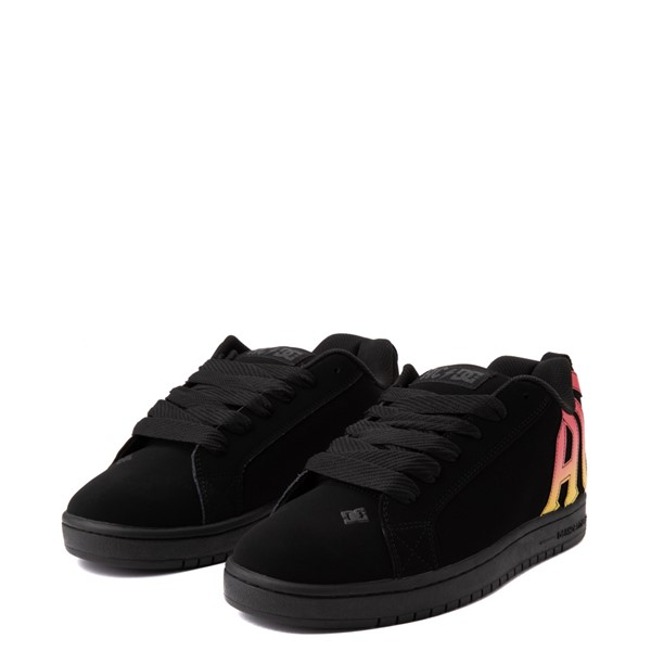 alternate view Mens DC Court Graffik AC/DC Skate Shoe - BlackALT1C