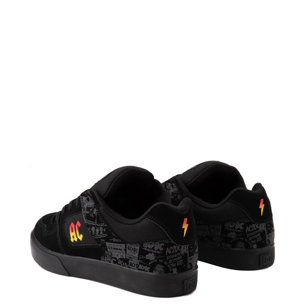 alternate view Mens DC Pure AC/DC Skate Shoe - BlackALT1B