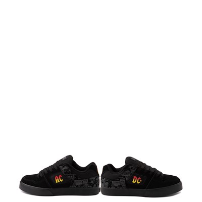 Alternate view of Mens DC Pure AC/DC Skate Shoe - Black