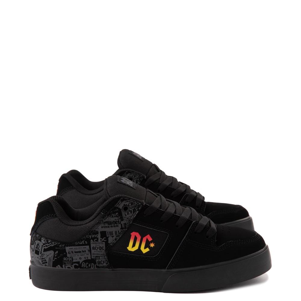 Mens DC Pure AC/DC Skate Shoe - Black