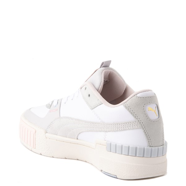 alternate view Womens Puma Cali Sport Athletic Shoe - White / MarshmallowALT1