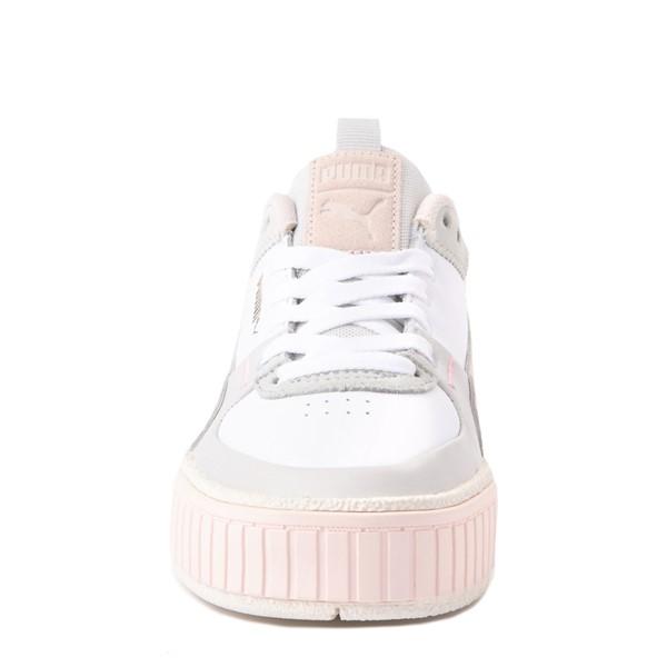 alternate view Womens Puma Cali Sport Athletic Shoe - White / MarshmallowALT4