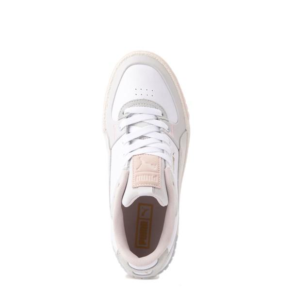 alternate view Womens Puma Cali Sport Athletic Shoe - White / MarshmallowALT4B