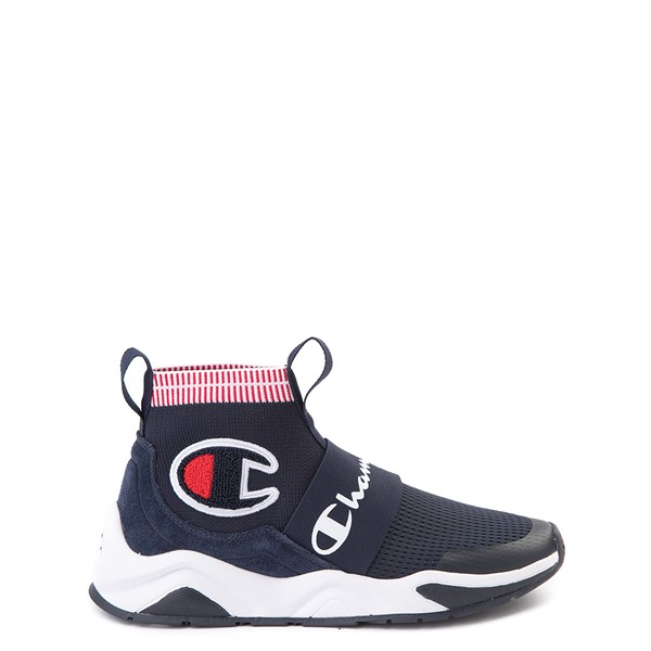 Main view of Champion Rally Pro Athletic Shoe - Big Kid - Navy