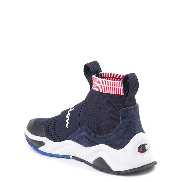 alternate view Champion Rally Pro Athletic Shoe - Big Kid - NavyALT1