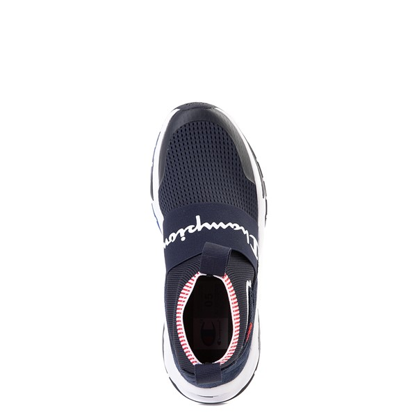 alternate view Champion Rally Pro Athletic Shoe - Big Kid - NavyALT2