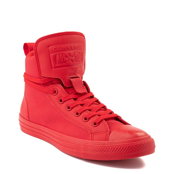 alternate view Converse Chuck Taylor All Star Hi Guard Sneaker - Red MonochromeALT5