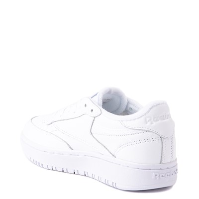 Alternate view of Womens Reebok Club C Double Athletic Shoe - White Monochrome