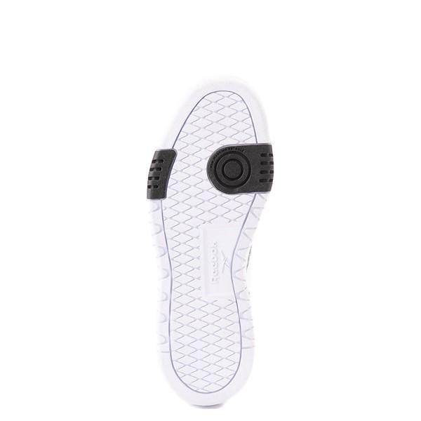 alternate view Womens Reebok Club C Double Athletic Shoe - White / Snow LeopardALT3