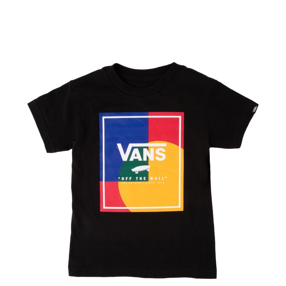 Vans Kalido Yacht Club Tee - Toddler - Black