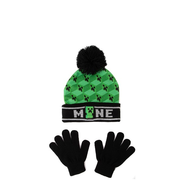 Minecraft Creeper Beanie - Little Kid - Green